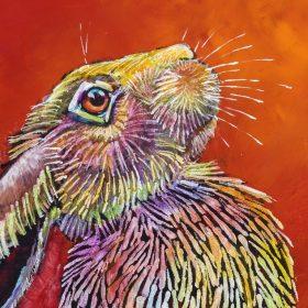 Rainbow Hare #3